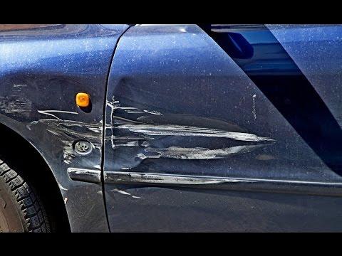 Что делать, если на парковке поцарапали машину