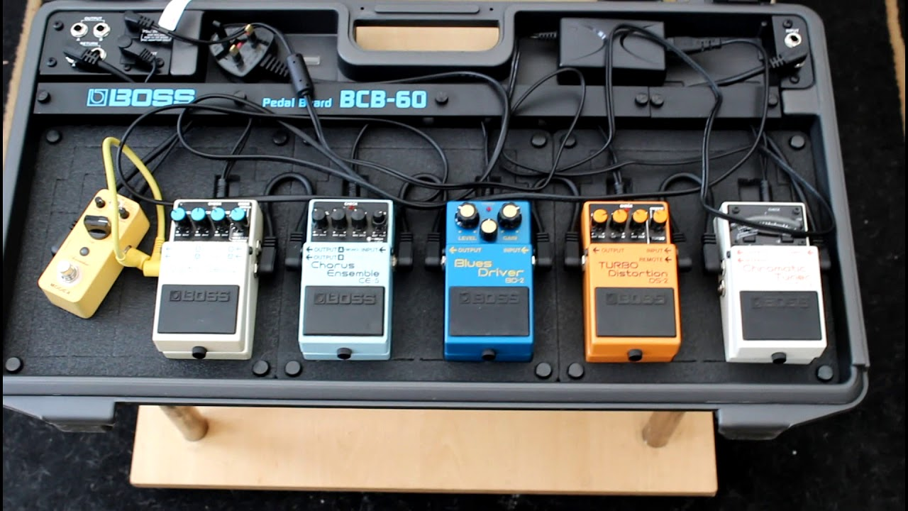 new boss bcb 60 pedal board overview youtube. Black Bedroom Furniture Sets. Home Design Ideas