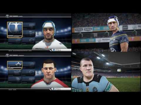 Rugby League Live 4 – Graphics Comparison vs RLL3