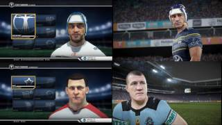 Rugby League Live 4 - Graphics Comparison vs RLL3
