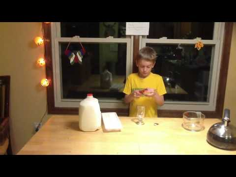 James Hull - Milk and Black Tea Experiment