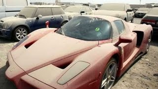 SPORTS CARS LEFT ABANDONED AT THE DUBAI AIRPORT
