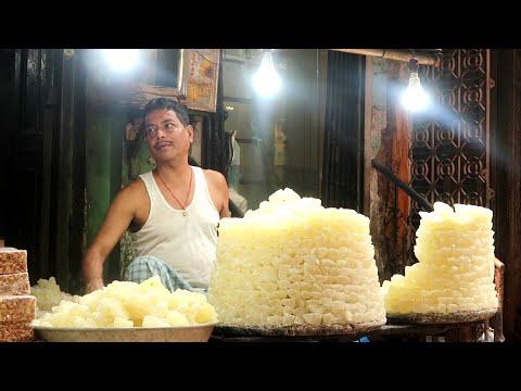 Download Agra Petha Sweet   Indian Sweets Making Video   Kolkata Street Food   Indian Street Food 2020 Sweets
