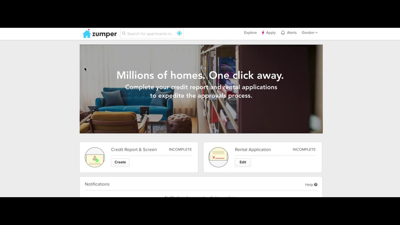 Zumper Redesign — Improving the apartment rental experience