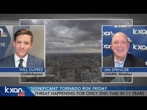 Jim Spencer Talks Severe Weather Potential Friday