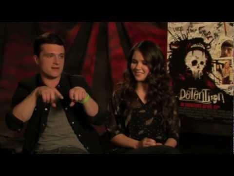 Josh Hutcherson & Shanley Caswell   'Detention' Exclusive!