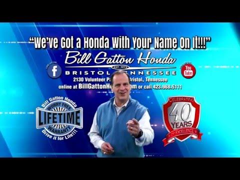 Bill Gatton Honda Online Ad 2016