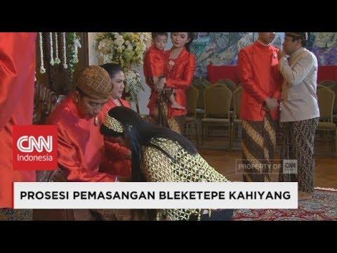 FULL - Tangis Haru Kahiyang Saat Sungkem Ke Jokowi-Iriana