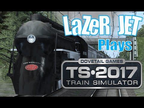 LaZeR JET Plays... Train Simulator 2017 - New York Central 4-6-4