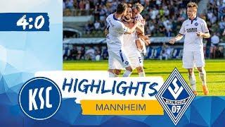 KSC-Highlights | bfv-Rothaus-Pokal Halbfinale | Waldhof Mannheim