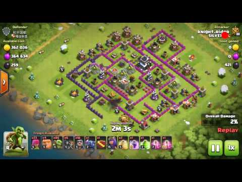 Clash Of Clans || The Reason Behind Not To Build Resource Collector's Outside Wall.