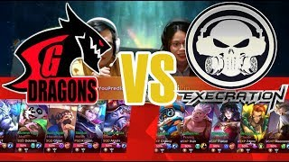 Just ML Cup Day 1 SGD Alpha vs Execration Game 1 (BO3) | Just ML Civil War Mobile Legends