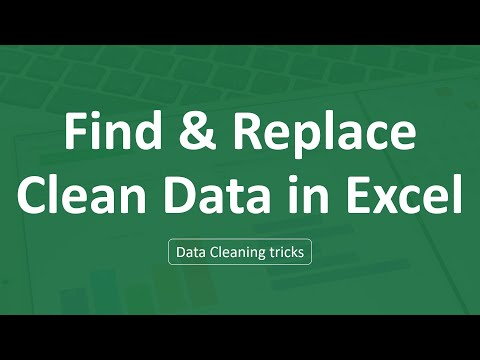 Excel vs. Word: Using Find & Replace | Excel Formulas | Data Cleaning