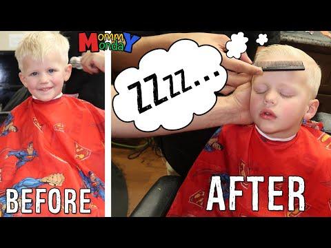 Mommy & Alyssa Girls Day Out, Michael Sleeps Through Hair Cut, Camera Shopping || Mommy Monday