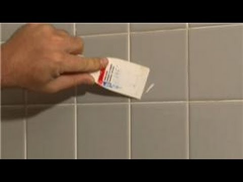 Bathroom Tiling How To Remove Old Tile Adhesive From The Glazed