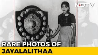 See Rare Photos Of A Young Jayalalithaa, Including As Convent Student