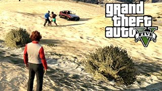 GTA 5 Online Basically vs Delirious, Friendly No Scopes and Fire Truck Heaven
