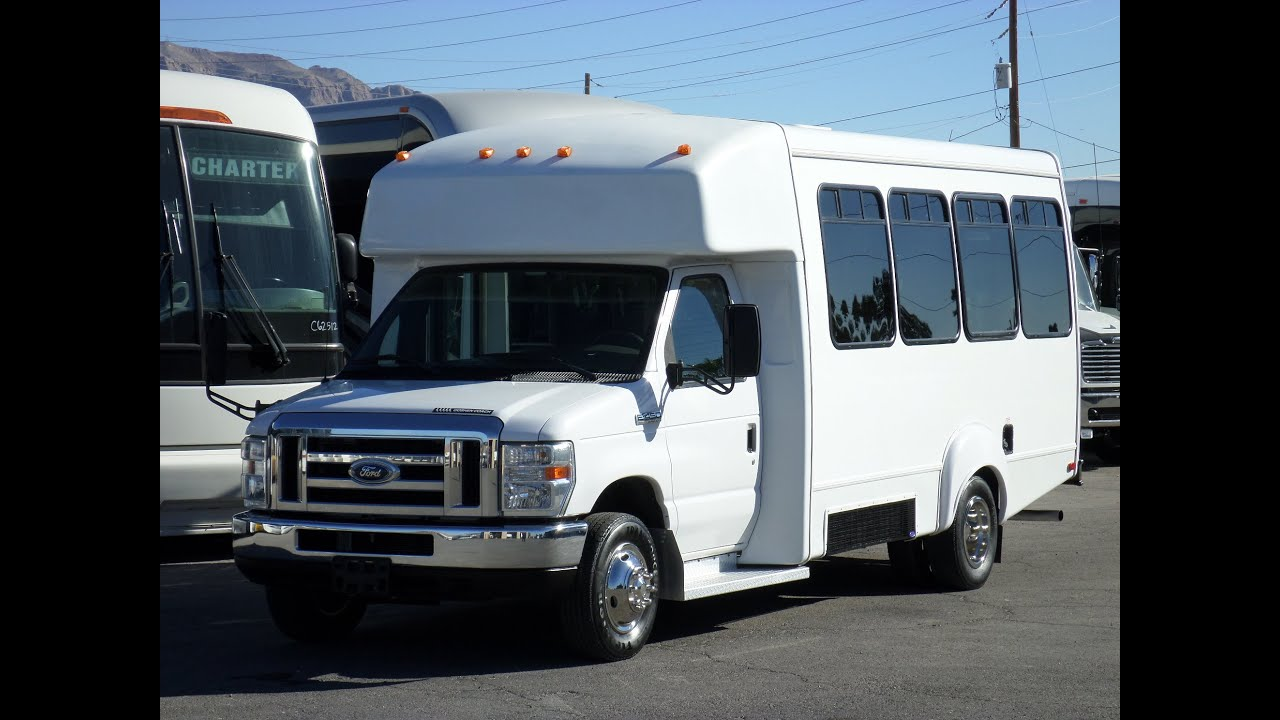 Limo For Sale >> Used Bus For Sale - 2008 Ford Goshen Coach Wheelchair Bus S51628 - YouTube