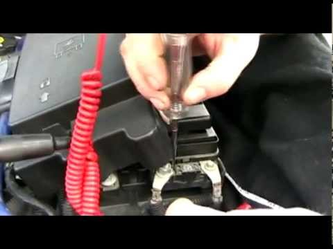 Chevy Trailblazer  electrical problems after jump