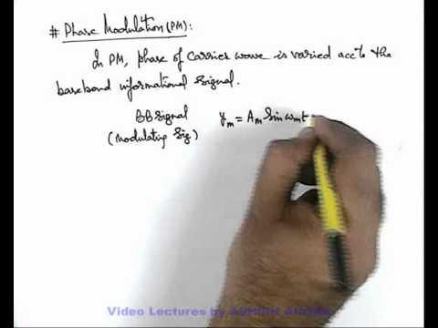 9. Class 12 Physics Lecture | Modulation | Phase Modulation | by Ashish Arora (GA)
