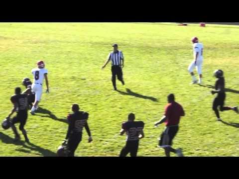 Taylor Thoman 45 yard pass completion