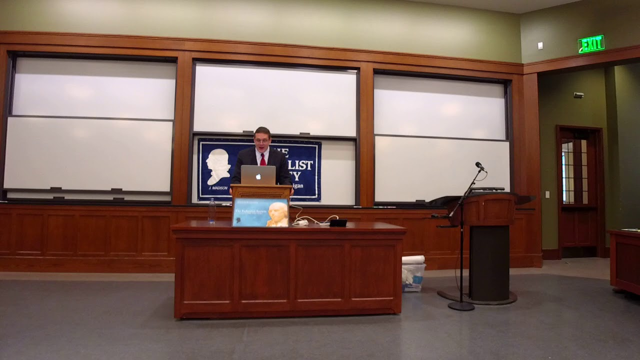 Debate On The Travel Ban At University Of Michigan Law School Federalist  Society Chapter
