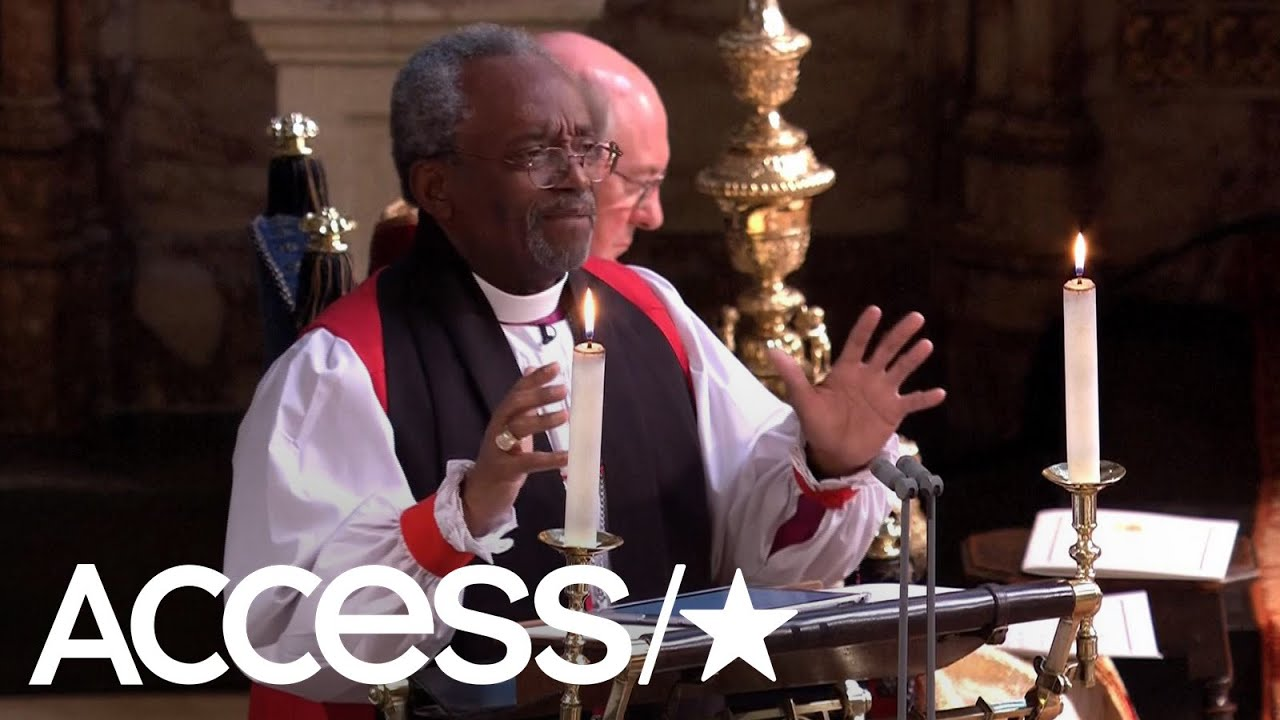 Michael Curry Royal Wedding.The Royal Wedding Bishop Michael Bruce Curry Gives A Powerful Sermon Access