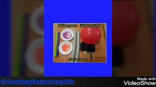 Çocuklarımız için balon oyunları&balloon games for kids