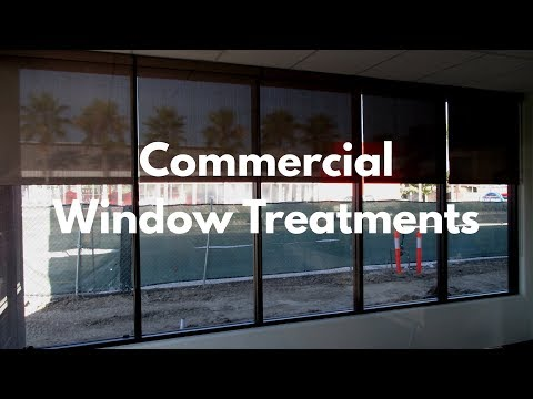 Commercial Window Treatments