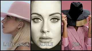 Adele vs Lady gaga vs Sia | Vocal Battle HD