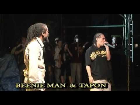 BEENIE MAN Y TAPON