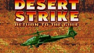 Desert Strike Return to the Gulf Intro (SNES vs Genesis) HD