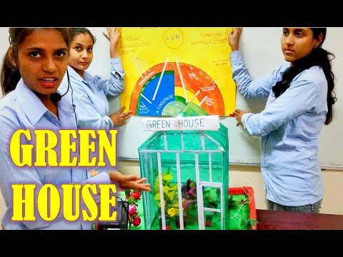 Working Model on GREEN HOUSE EFFECT AND GLOBAL WARMING | Science Fair Projects Ideas |GOOD PROJECT|