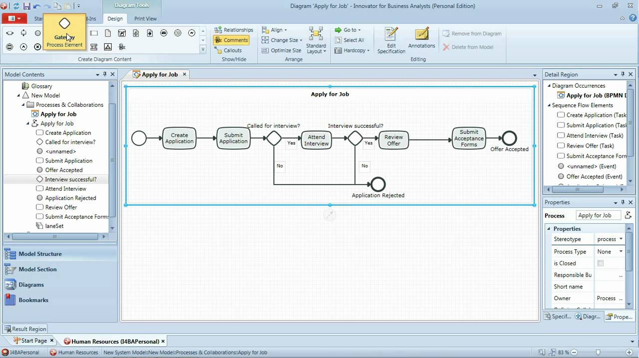 Bpmn tutorial part 1 simple bpmn workflow business process bpmn tutorial part 1 simple bpmn workflow business process modeling youtube ccuart Gallery