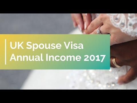 UK Spouse Visa Annual Income 2017