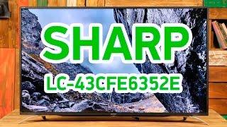Sharp LC-43CFE6352E - smart-телевизор в тонком корпусе - Видео демонстрация
