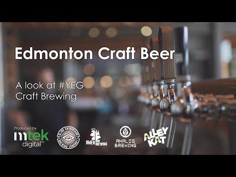 Edmonton Craft Beer - A Look At The Edmonton Craft Brewing Industry
