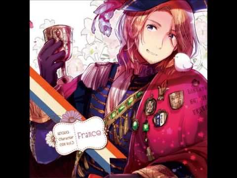 APH France New Character   Fall in Love, Mademoiselle