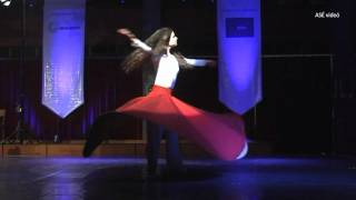 Female whirling dervish and the Vienna Classical Players