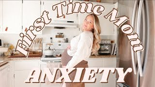 FIRST TIME MOM FEARS// Labor, Biŗth Anxiety, Sharing Baby Lace?   Get Ready w Me