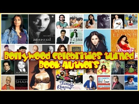 16 Bollywood Celebrities turned Book Authors : Actors Actresses who are Writers