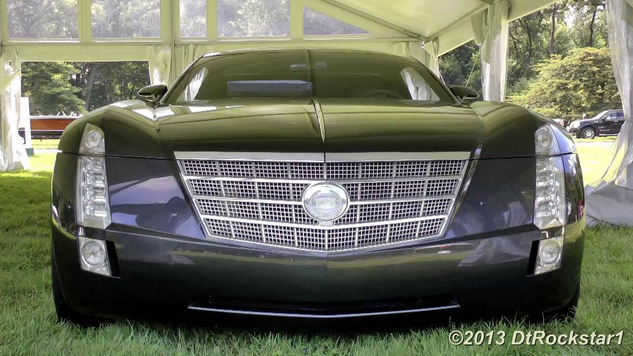 1,000 HP Cadillac Sixteen Startup, V16 engine - YouTube