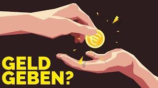 Sollte man Obdachlosen Geld geben?
