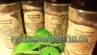 Moringa Herbal Seasoning Salt!
