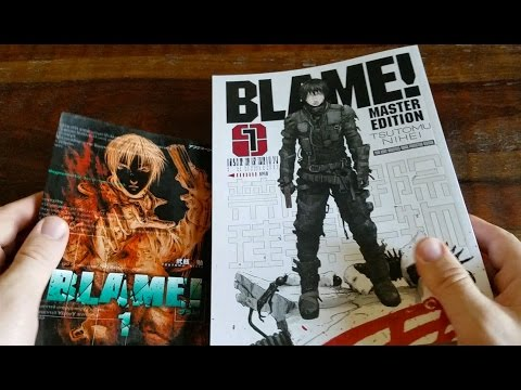 BLAME! Master Edition Book 1 review by Classic Game Room