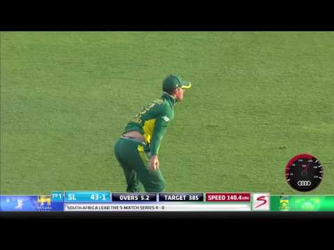 South Africa vs Sri Lanka - 5th ODI -  Kusal Mendis Wicket
