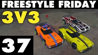 vuclip Rocket League | Freestyle Friday 37 | 3v3 (Goals & Fails)