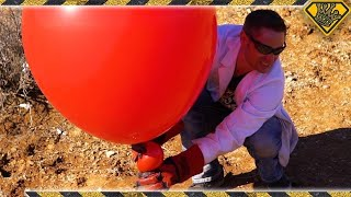 Gigantic Hydrogen Balloons