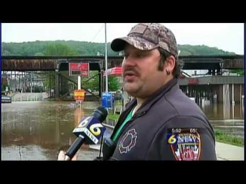 johnsonburg flooding worst in recent memory youtube