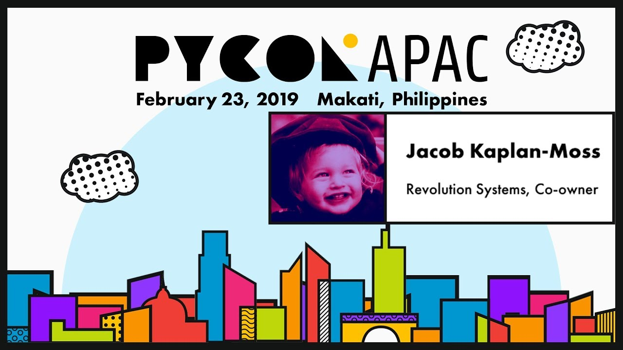 Image from Pycon APAC 2019 - Jacob Kaplan-Moss - Interviewing as a Python engineer